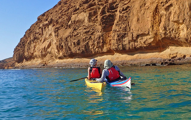 Lanzarote / Isla Graciosa (Foto: Sea Kayaking Lanzarote)