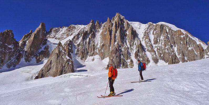 Valee Blanche Abfahrt (Mont Blanc, Chamonix, 2015)