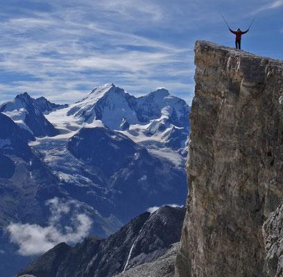 Barrhorn / Walliser Alpen (Schweiz)