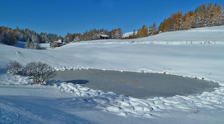 See in der oberen Hellela