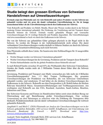 Quelle: http://www.esu-services.ch/fileadmin/download/media/ESU-Pressemitteilung-Umweltbelastungen-Warenhandel-20180914.pdf