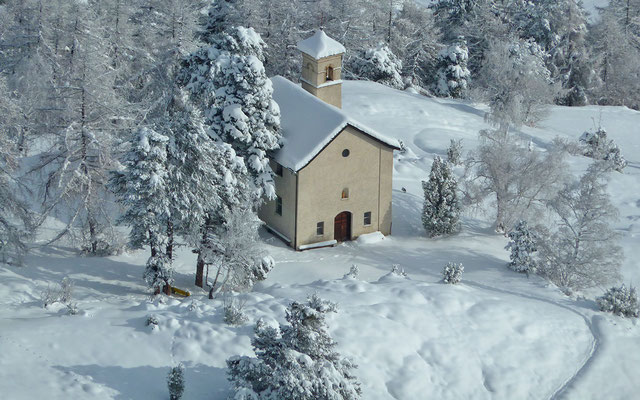 Bielkapelle Winter