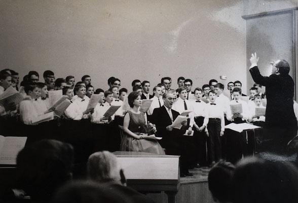 Schulchor Mercator-Gymnasium (ca. 1965)