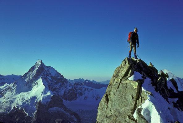Matterhorn im Anstieg zur Dent Blanche (1984)