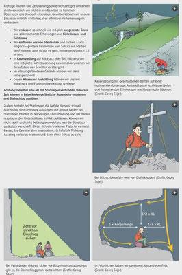 Quelle = Alpenverein.at, 8.8.2019,  Gewitter am Berg: was tun?