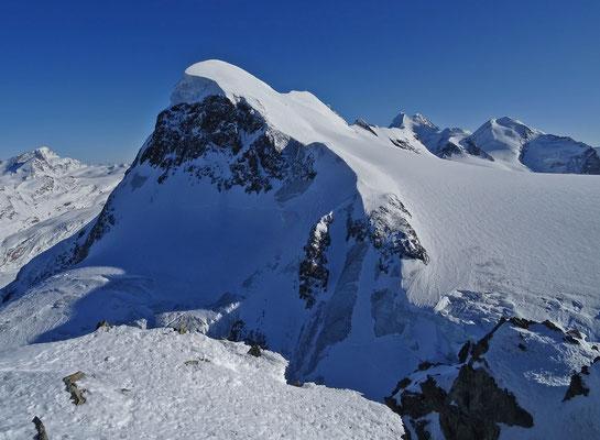 Zermatter Breithorn mit Pollux, Castor & Lyskamm