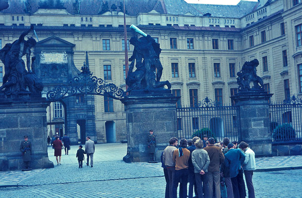 Klassenfahrt nach Prag (ca. 1970)