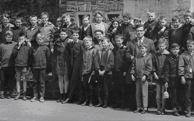 Schulklasse Mercator-Gymnasium (ca. 1965)