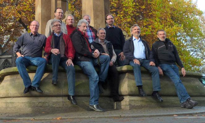 Klassentreffen anlässlich 40-Jahre-Abitur - Klasse 13c/Abitur 1971 - in Duisburg (2011)