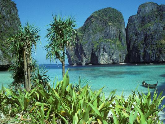 Ko Phi Phi Le (Thailand): bevor diese malerische Bucht von Touristen überrannt wurde