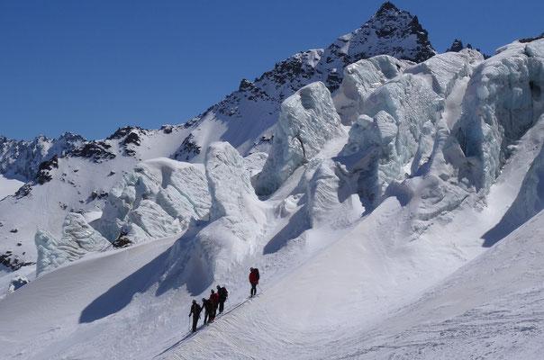 Ochsentalergletscherbruch (Silvretta, Österreich)