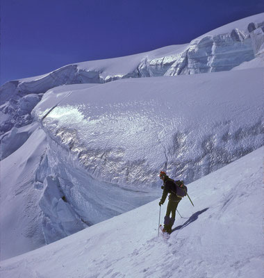 Skihochtour zum Mont Velan (1985)