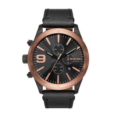 DZ4445 RASP Chronograph/ Glas: Mineralglas/ Gehäusedurchmesser: 50 mm/ Gehäusehöhe: 12 mm/ Wasserdichtigkeit: 50M/ 2-Jahres-Garantie/ Preis : 219€