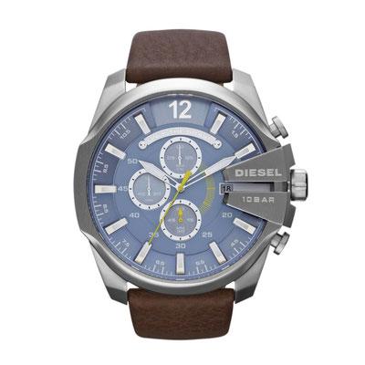 DZ4281 MEGA CHIEF Chronograph/ Glas: Mineralglas/ Gehäusedurchmesser: 51 mm/ Gehäusehöhe: 12 mm/ Wasserdichtigkeit: 100M/ 2-Jahres-Garantie/ Preis : 219€