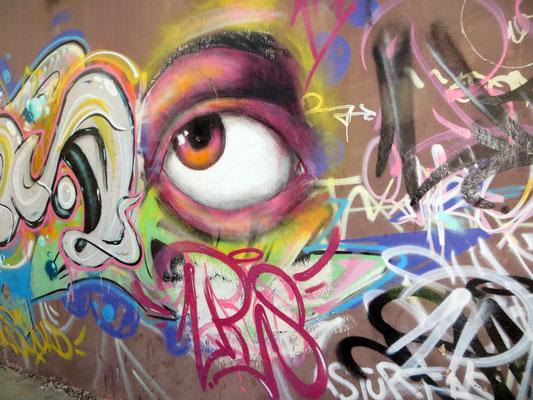 Grafitti in der Stadt