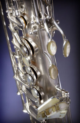 Keilwerth Solist Modell mit Perlmutt auf allen Tasten