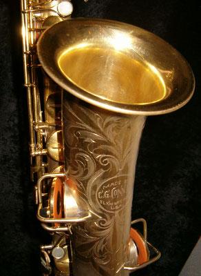 vergoldetes C-Melody von Conn