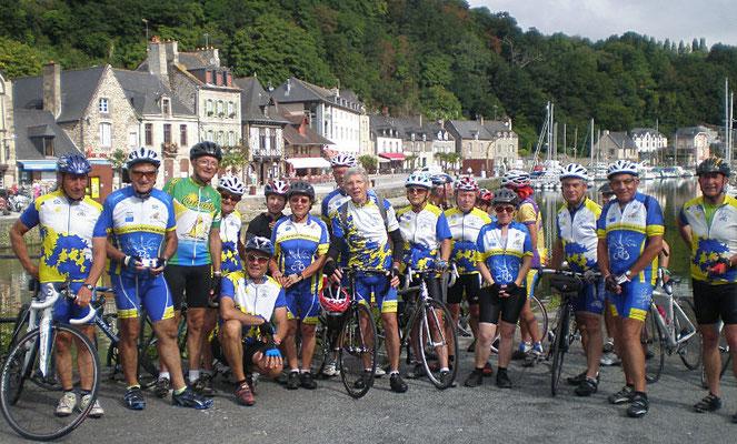 02/09/2014 Accueil du club de Blois à Dinan