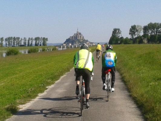 15/05/2014 Rando vers le Mont Saint Michel