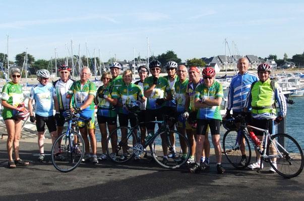 15/09/2014 Cyclocancalais dans le golfe du Morbihan