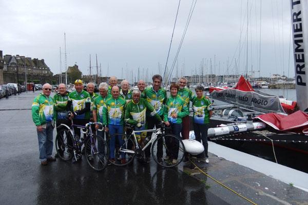 14/06/2012 Cyclocancalais avec le navigateur Gilles Lamiré
