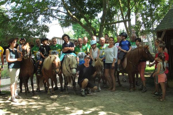 6 juillet 2017 Halte au Centre Equestre