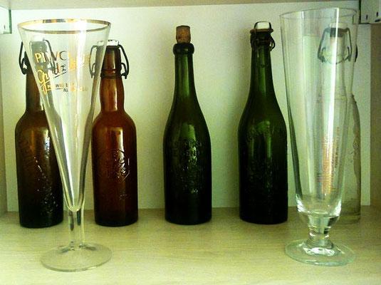 Butelki,szkło