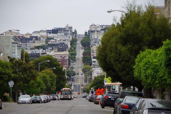 坂の街・サンフランシスコ