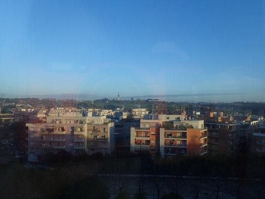 初めてのローマの朝