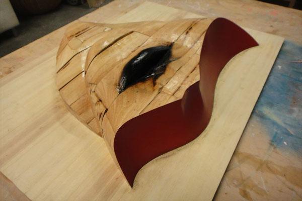 原型となった木彫作品