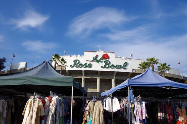 パサデナのローズボウルのフリーマーケット