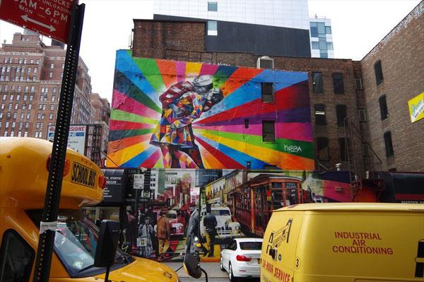 チェルシーの壁画