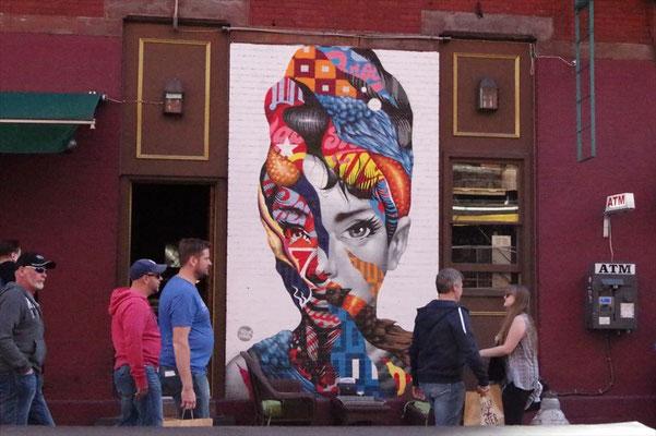 ソーホーの壁画