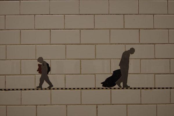 ニューヨークの地下鉄壁画