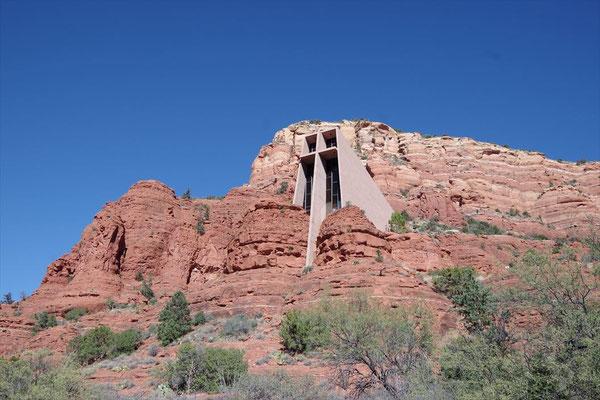 岩に建つ教会(セドナ)