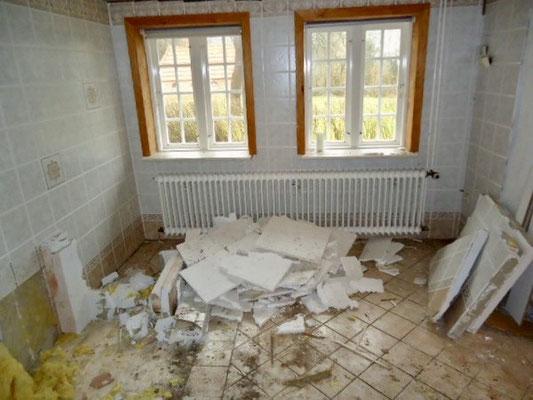 Das Lützenzimmer diente einst als Badestube.