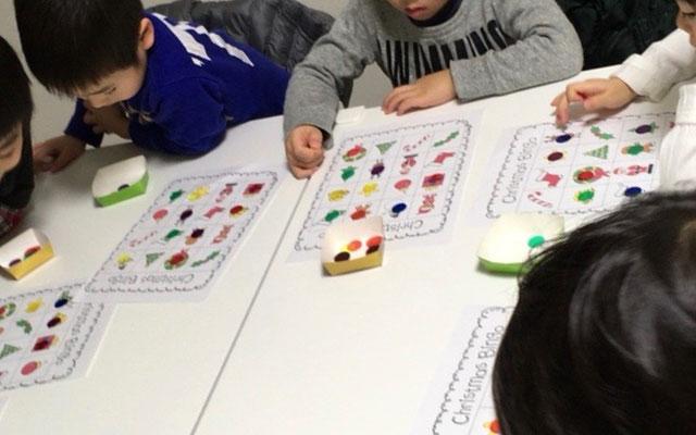 幼児英会話クラス風景