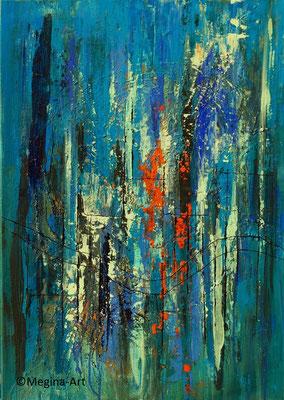 abstrakt_08, Acryl 60x50