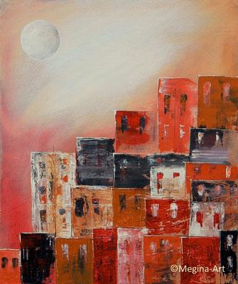 Siedlung II, Acryl 50x60