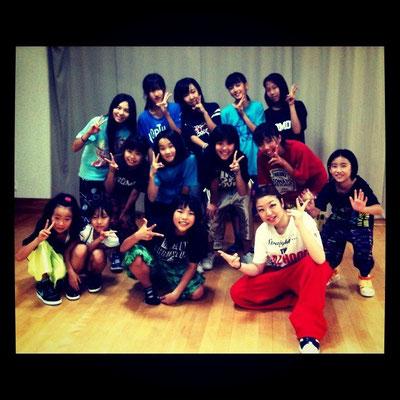 2011/8 SAYA HIPHOP class