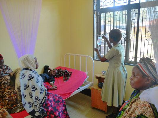 Infusionen bei Malaria-Erkrankungen
