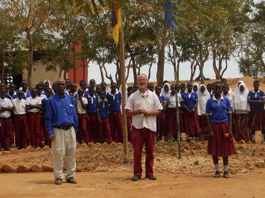 Partnerschaft Exinschule Zehdenick mit der Secondary-School in Bugamba