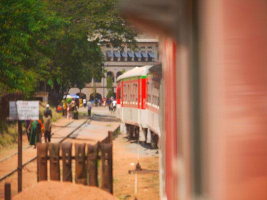 36 Stunden Fahrt von Kigoma nach Daressalam