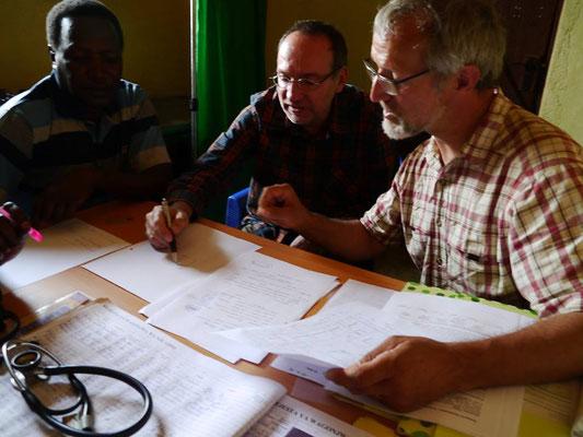 interne Planungen für eine neue Gesundheitsstation