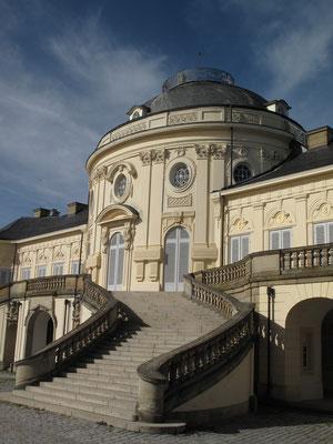 Auch zum Solitude-Schloss hat Christian Wagner ein Gedicht geschrieben