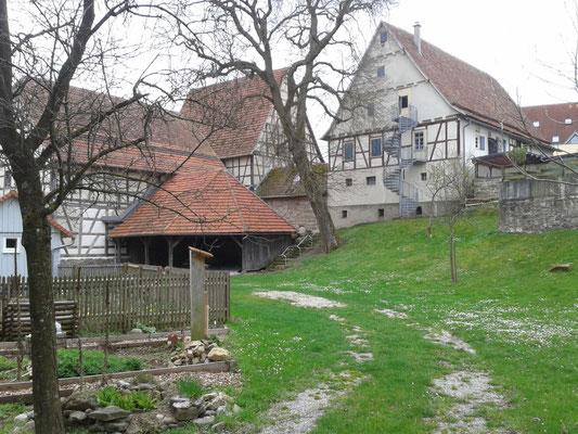 Garten im Bauernhausmuseum Gebersheim