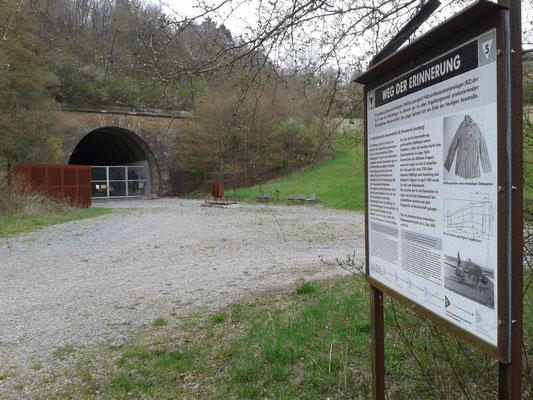 KZ-Gedenkstätte im alten Autobahn-Tunnel