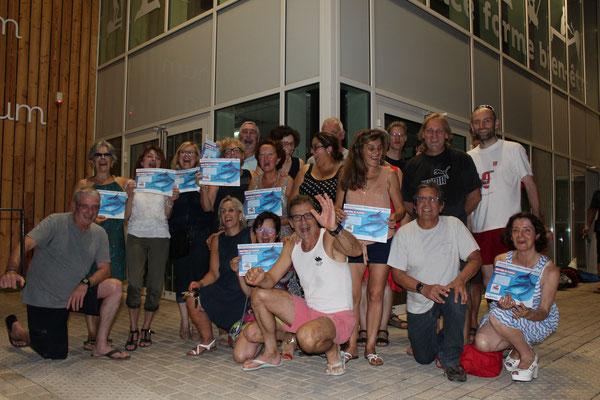 Les Aquaphobes - 15 et 22 juin 2017 - Baptêmes de la Section de Patrick Langlade / Ville de Brive