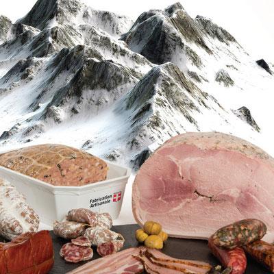 """Campagne d'affichage """"Aux Salaisons Savoyardes"""" et """"Saveurs des Alpes"""""""