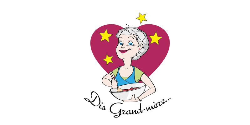 logo Dis grand-mère